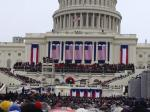 My lucky cousin who took this photo got to be so close to all the Inauguration Day action this morning.